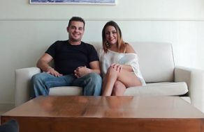 Pareja española se conoce online y echa un polvazo ante las cámaras