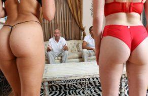 Padres se intercambian a sus hijas para reventarles el coño