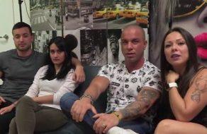 Dos parejas españolas se intercambian para follar salvajemente