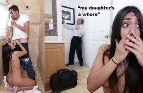 Viejo descubre desesperado que su hija es una gran puta