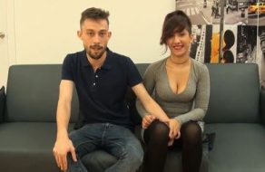 Española jovencita y viciosa folla salvajemente mientras la graban