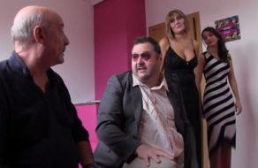 Sesión de sexo español con el Dioni, Torbe y dos buenas zorras