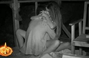 Violeta y Fabio follando en la playa de Supervivientes