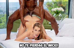 Alexis Crystal follada durísimo por el amigo negro de su novio